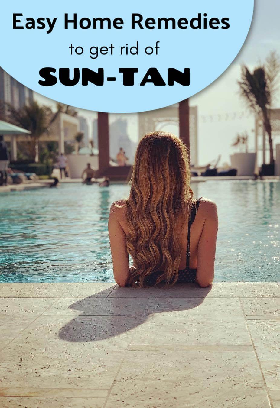 Home Remedies To Get Rid Of Tan Hair Growth Faster Get Rid Of Tan Sun Tan