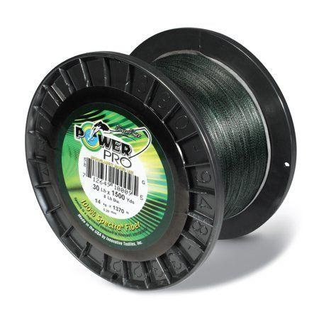 Power Pro Spectra Braid 5 lb Moss Green