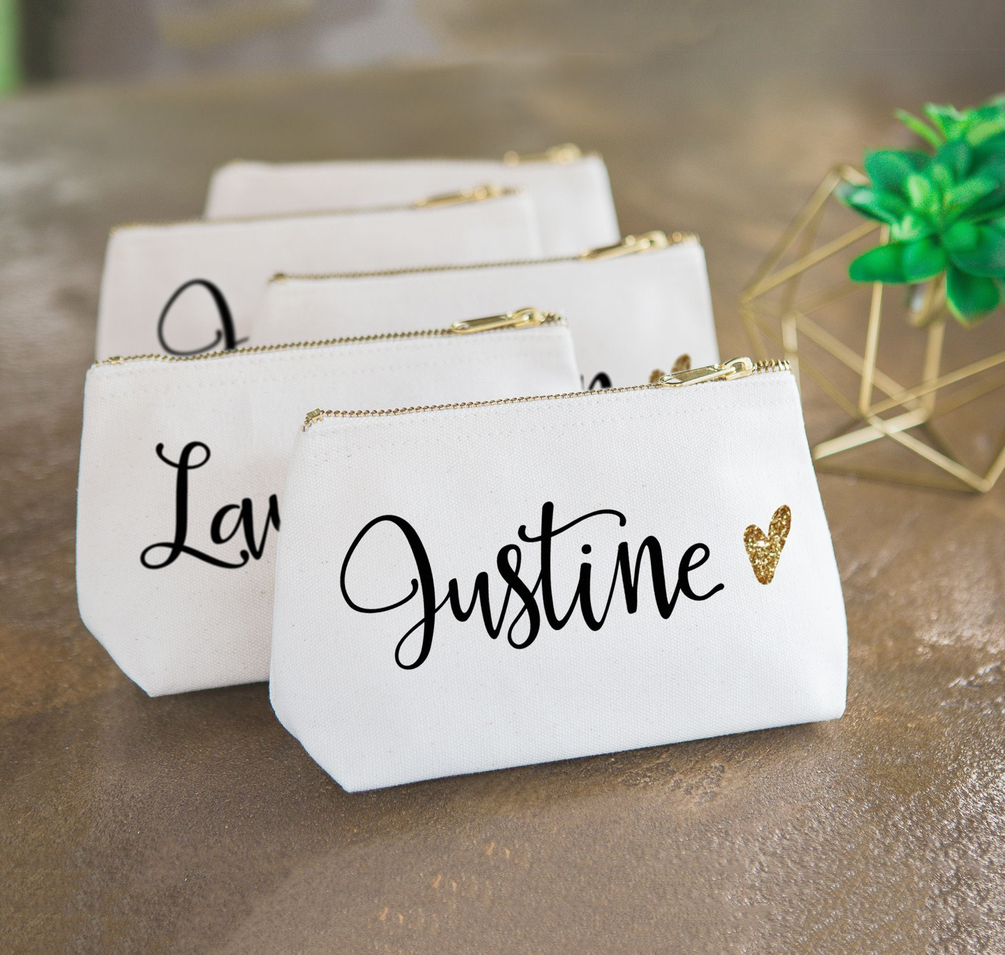 Bridesmaid Gift Ideas - Cute Personalized Bags for the Bridal Party ...