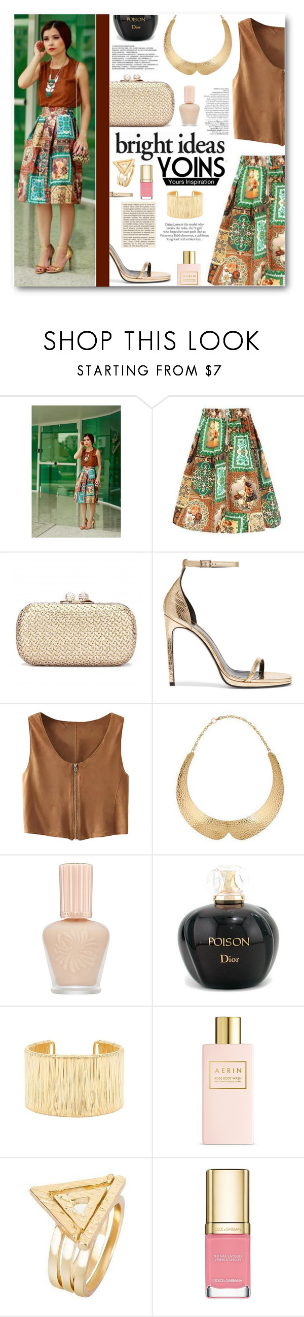 """Bright Ideas with Yoins"" by tasnime-ben ❤ liked on Polyvore featuring Yves Saint Laurent, Avenue, Paul & Joe, Christian Dior, Estée Lauder, ASOS, Dolce&Gabbana and yoins"