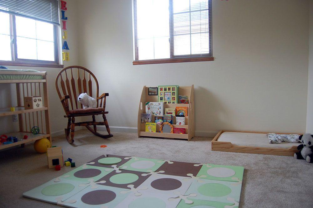 Eli S Room Floor Bed Montessori Infant Room Childrens Floor