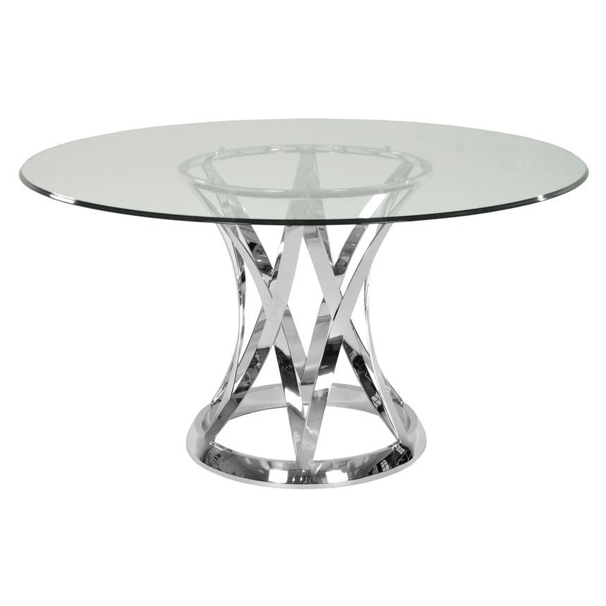 Janet Clear Round Dining Table Round Dining Round Marble Dining