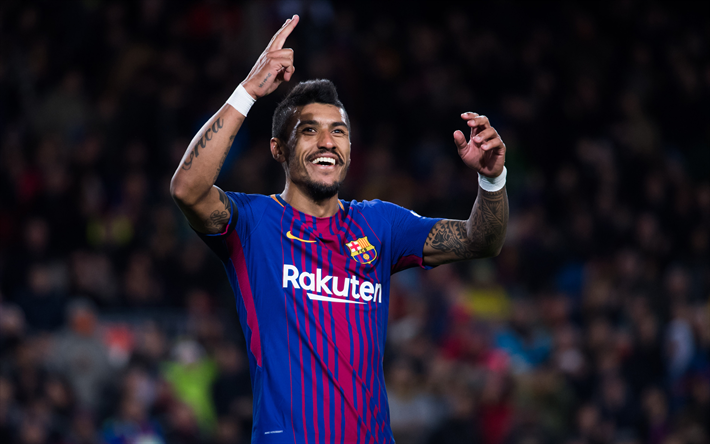 Download Wallpapers Paulinho 4k Footballers Fc Barcelona