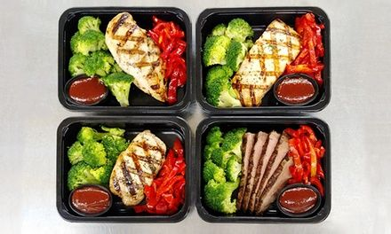Chefs prepare healthy meals in accordance with the popular Paleo Diet, helping clients trim their physiques; delivered to your door
