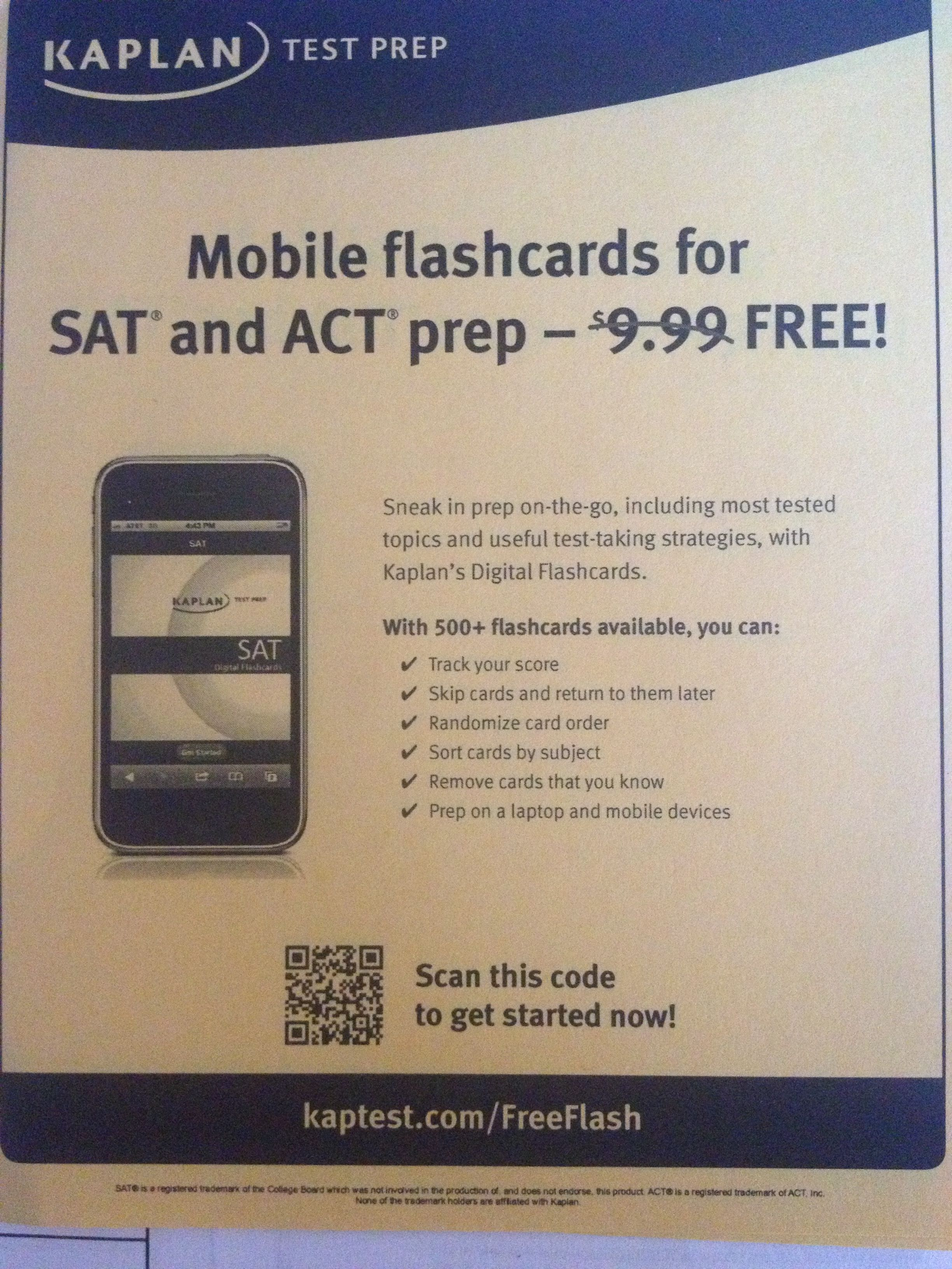 SAT ACT prep flash cards free | Counseling | Pinterest
