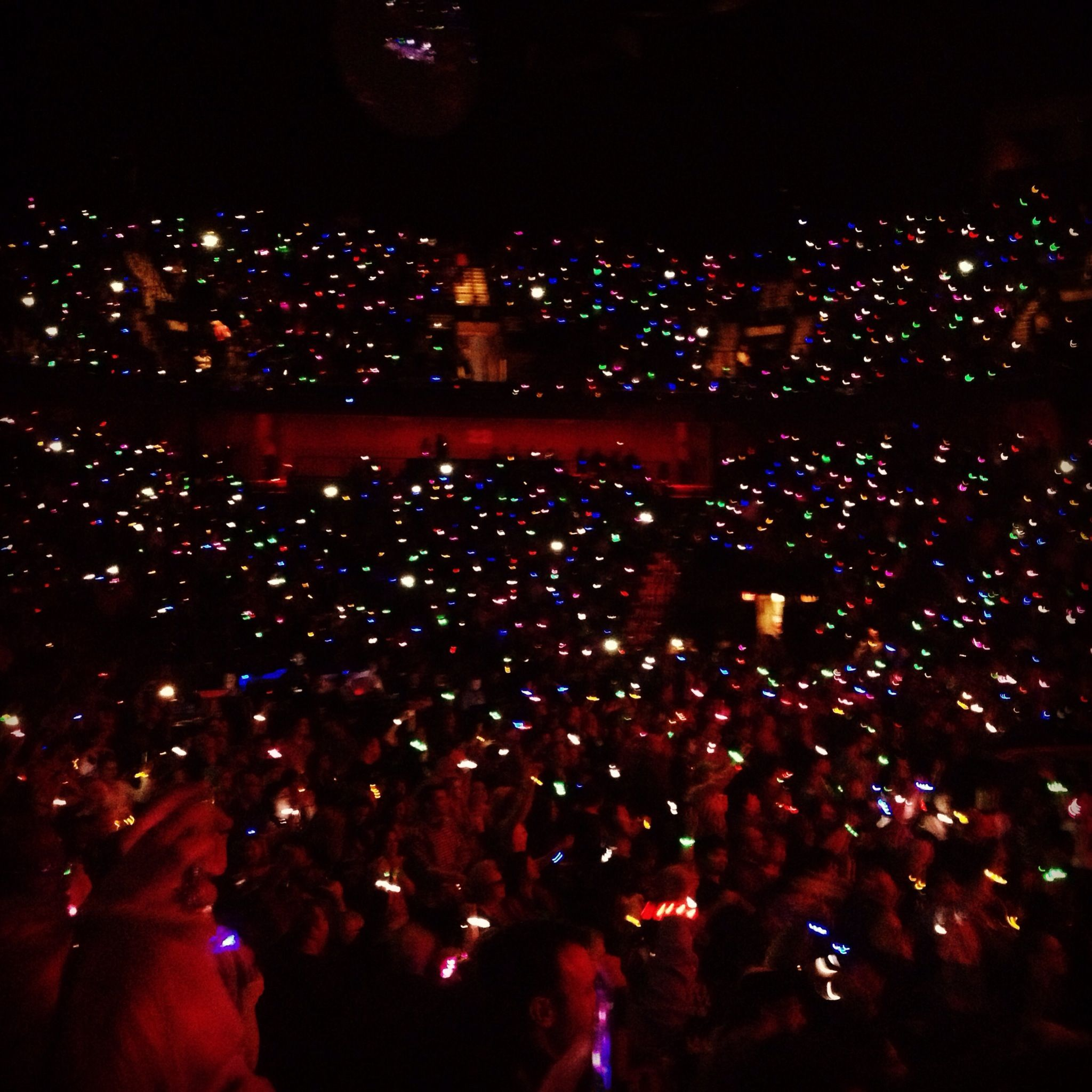 Light Up Bracelets At Coldplay Concert Coldplay Concert Concert Coldplay