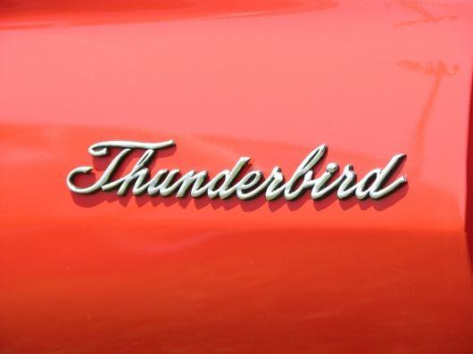 Thunderbird Car Logos Car Emblem Logos