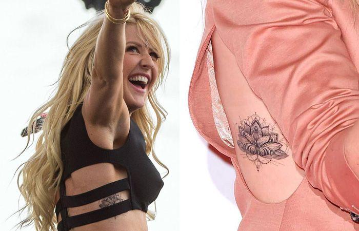 Ellie Goulding Tattoo Divergent