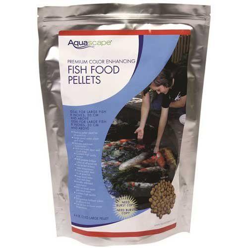 Aquascape Premium Color Enhancing Fish Food Pellets For Pond Koi Goldfish  And More 11 Pound *