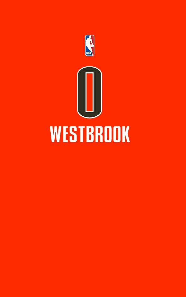 Russel Westbrook Alternate Jersey I Love Basketball Iphone Wallpaper Sports Nba Wallpapers