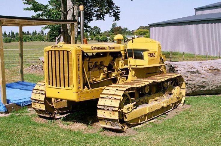 Caterpillar D6 | Caterpillar | Crawler tractor, Tractors