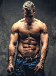 get lean and have low body fat percentage for more natural testosterone