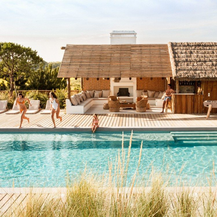 The pool and outdoor loggia. (With images) Pool