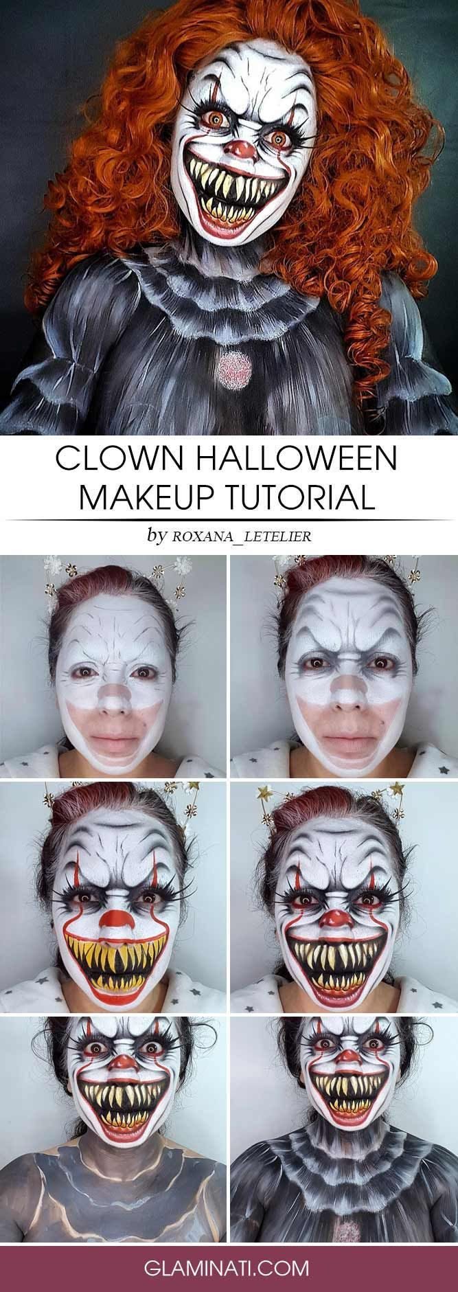 37 Horribly Exciting Scary Halloween Makeup Ideas Scary