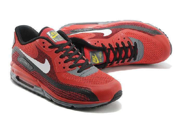 90ce3e39aeb Kaufen Nike Air Max 90 Lunar Schwarz Weiß Online Herren Rot Sportschuhe  Online bei niketrainer.de
