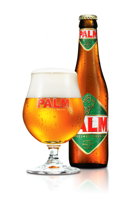 """Palm """"Speciale Belge"""" honey-like mellowness comes from special PALM malts, and specially selected PALM yeasts give it a fruity yeast aroma."""
