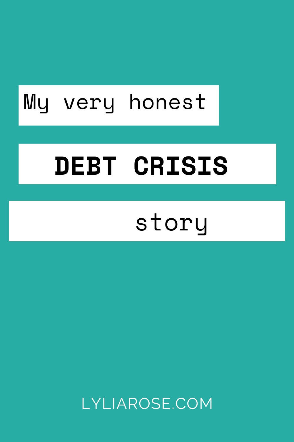 Read a very honest account of how I got into £17500 of personal irresponsible debt before I was even 20 years old and how I paid every last penny back! #debt #debtstory #personalfinance #shoppingaddiction #moneyworries #money #moneyblogger #finance #moneyblog