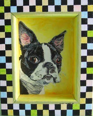 The Dog House Chery Holmes Design Illustration Dog Portraits