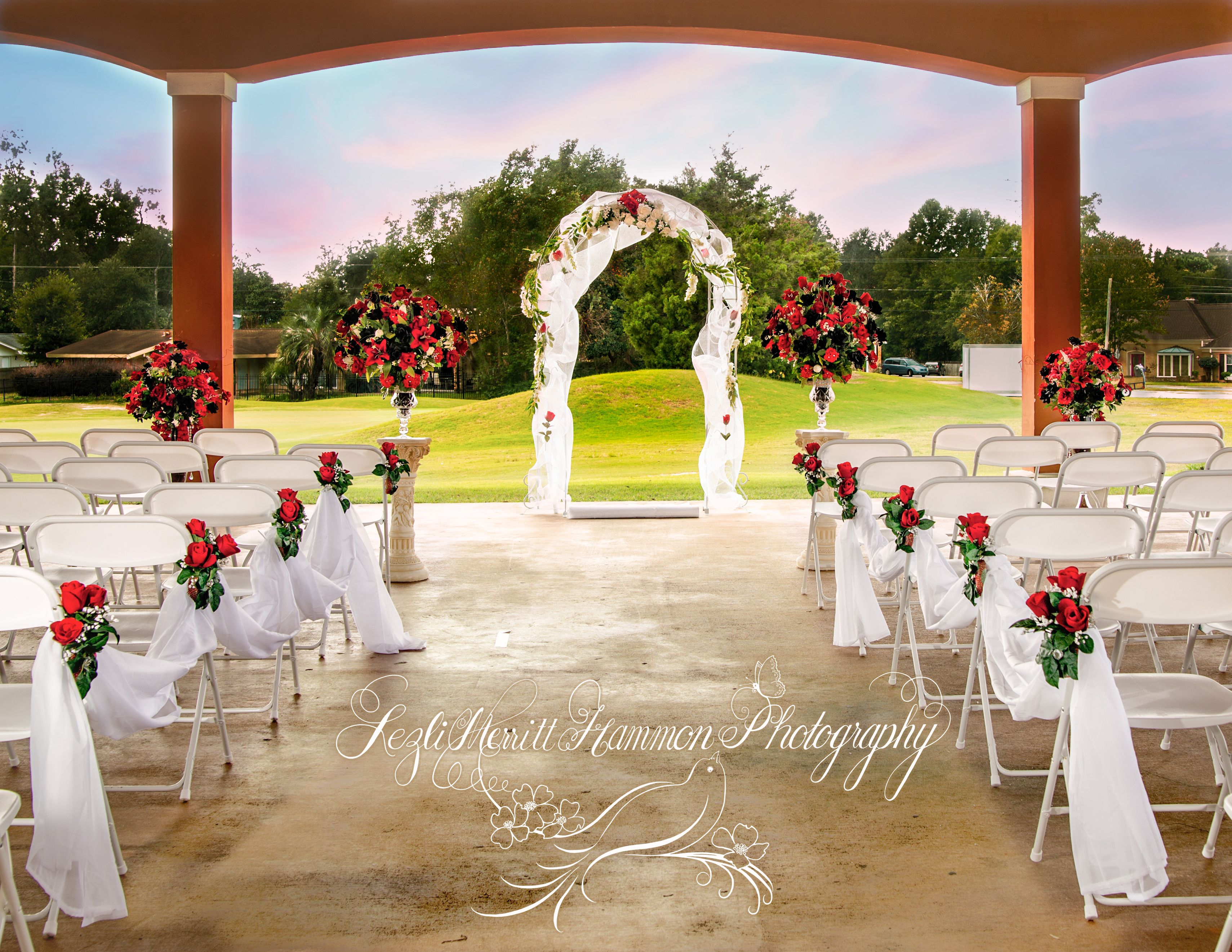 Pensacola Wedding Venue Scenic Hills Country Club Golf Themed