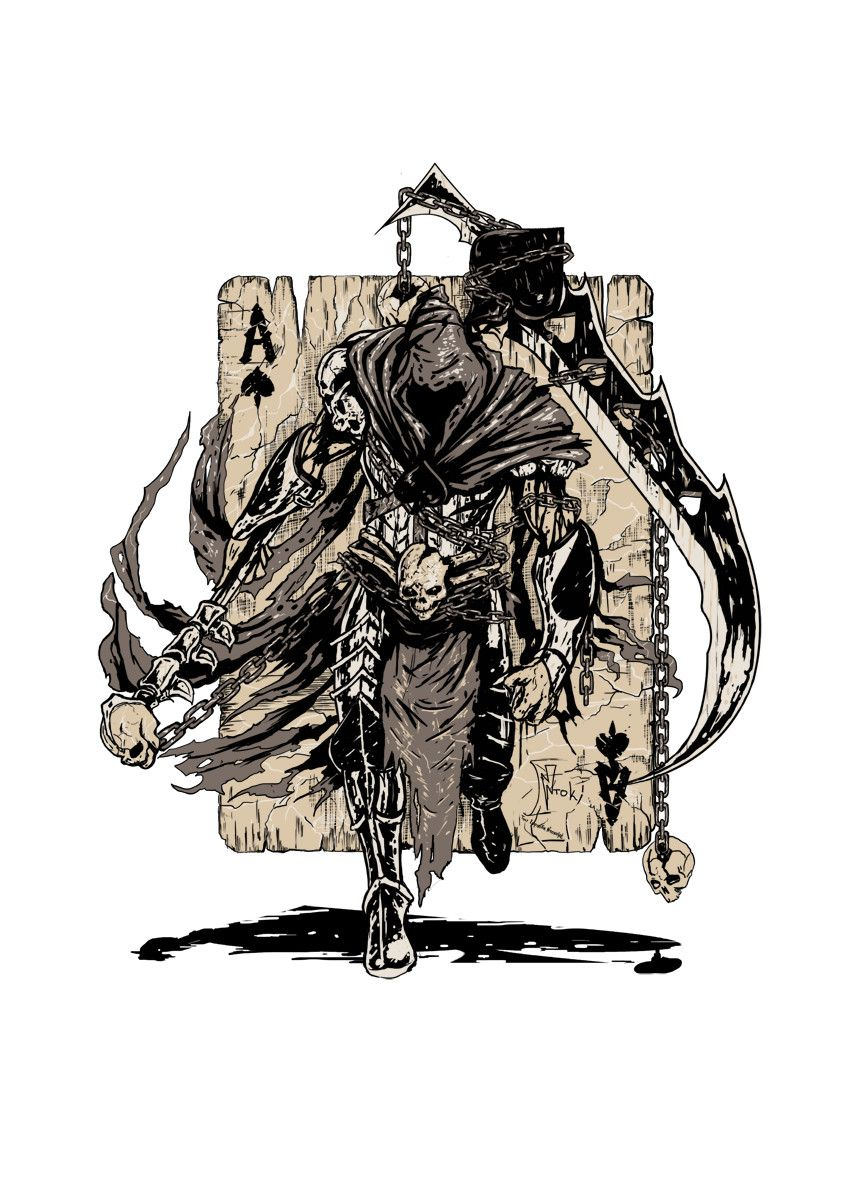 Artstation ace of spades warrior classic warrior version akis ntokomes ntok