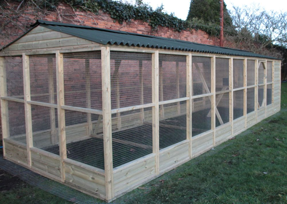 Chicken coop installed by poultry supplies and chicken for Chicken run plans