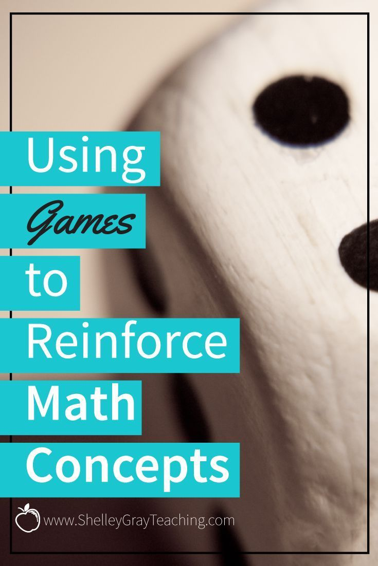 Using Games to Reinforce Math Concepts | Pinterest | Classroom ...