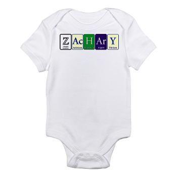 Zachary Body Suit > Zachary > Periodyc Design Zachary Baby Bodysuit Onsie $17.19