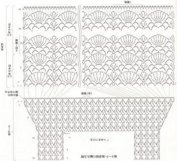 кофточки вязанные крючком со схемами и описанием: 14 тыс ...