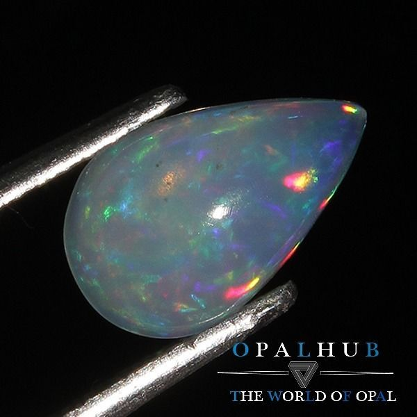 1.00 Cts 100% Natural Ethiopian Welo Fire Opal Cabochon Stone Play Color 4658