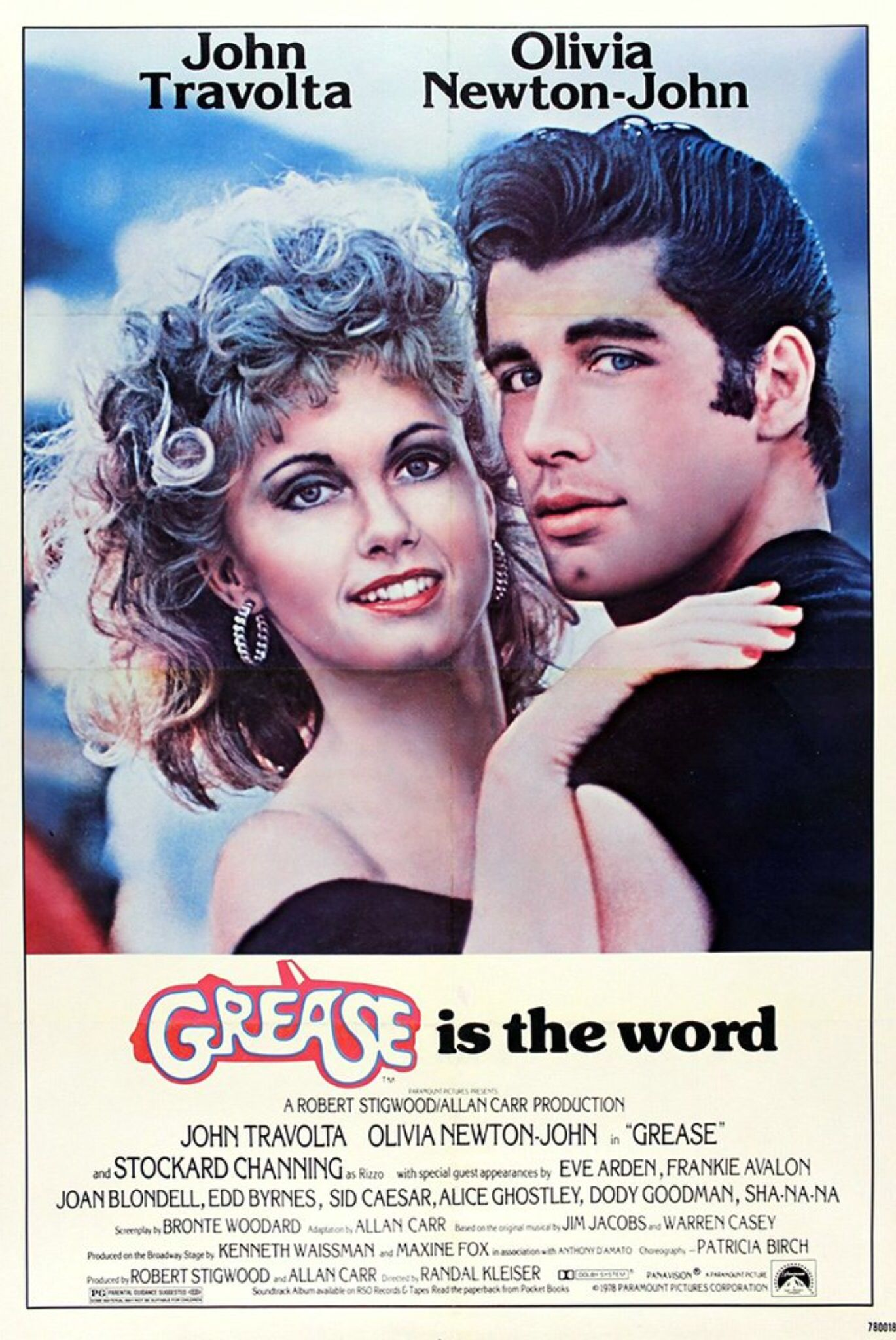 """Grease (1978) - """"The only man a girl can depend on is her daddy."""""""