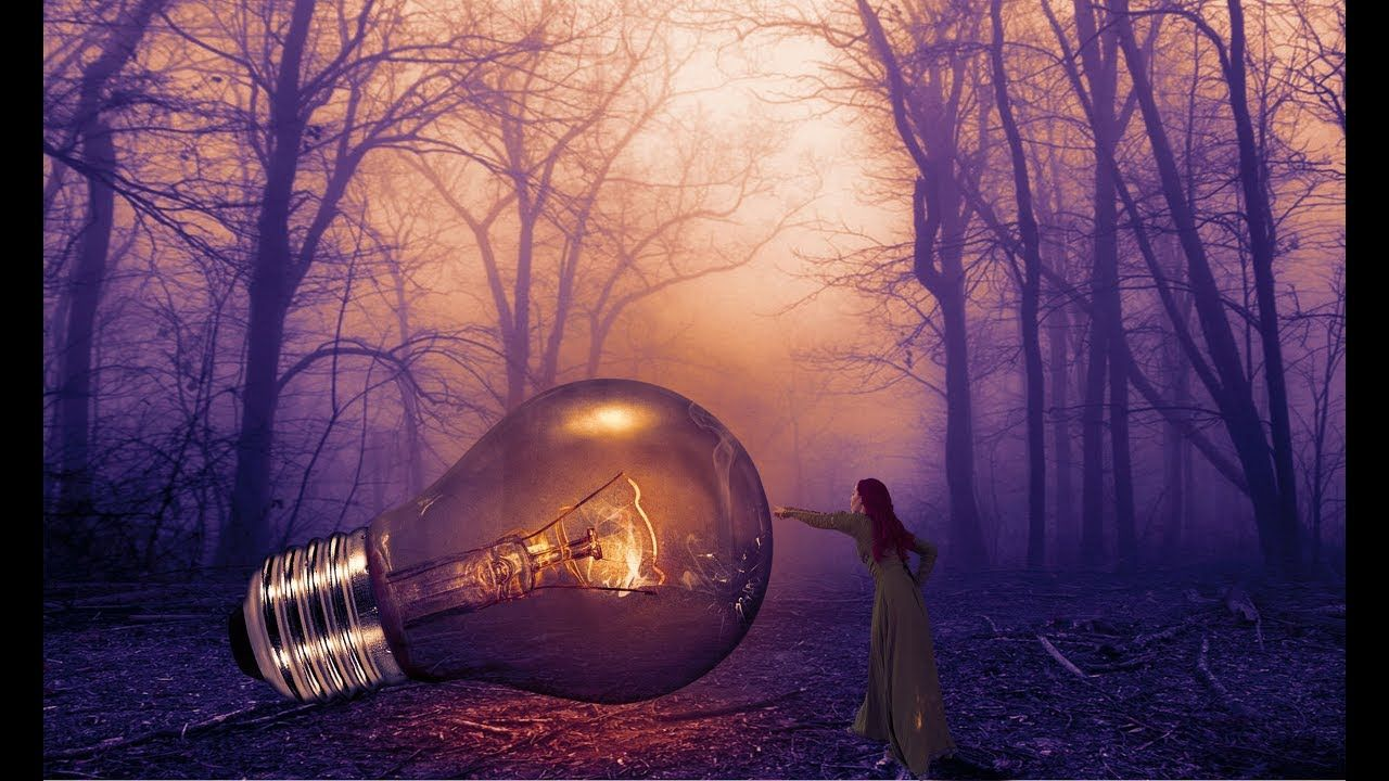 Light effect in dark photo manipulation photoshop tutorial photoshop tutorial light effect in dark photo manipulation learn how to use layer mask and how to use blending modes learn more about colour tone baditri Gallery