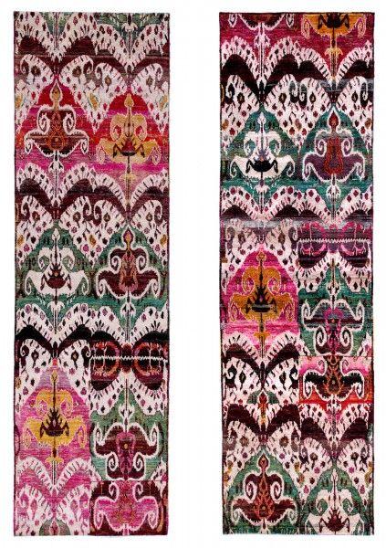 Eden I & 2 rugs, Luke Irwin