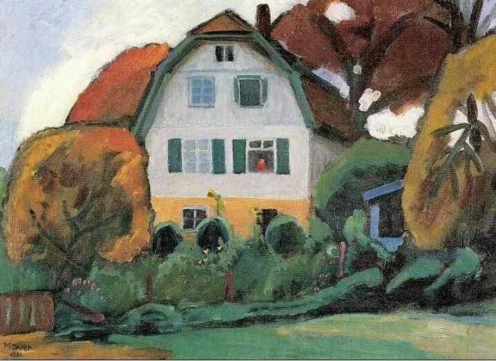 Pin By Jim Peckham On Designs For Inspiration Art Gabriele Munter Painting