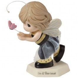 """""""I'm A Bee-liever"""" Figurine #153017"""
