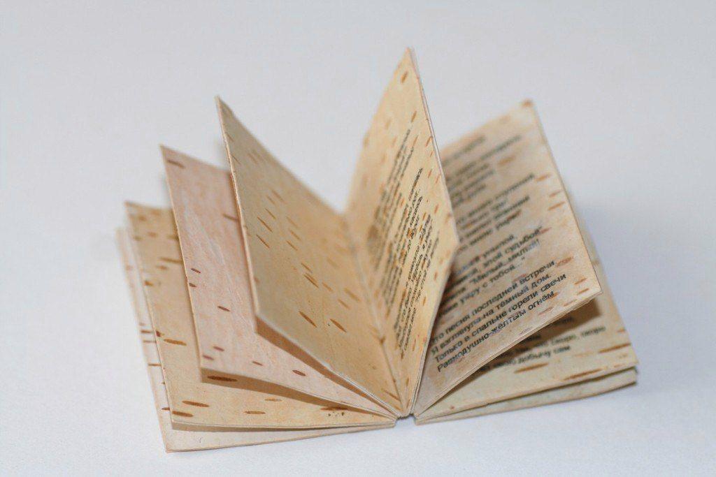 книги из бересты фото смешными ужимками неуклюжими