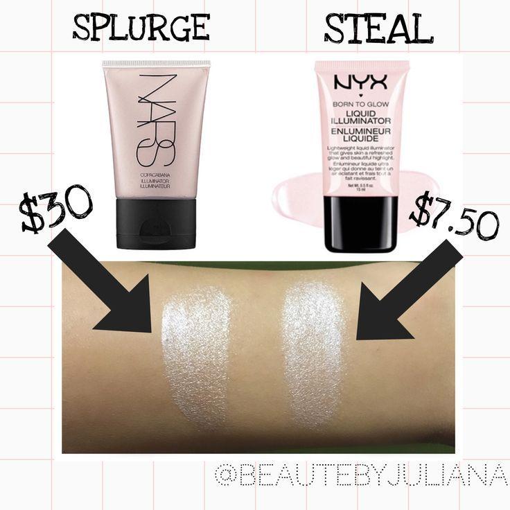 6 High End Makeup Dupes Makeup Dupes Nyx Born To Glow High End Makeup