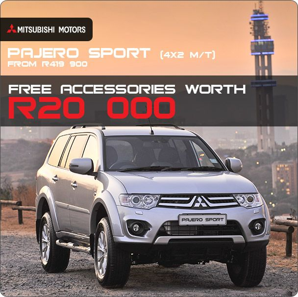 New Mitsubishi Pajero Sport X MT Now Available From R - Mitsubishi promotions