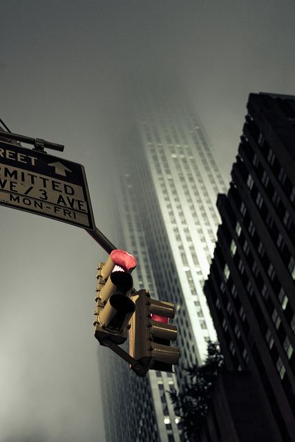 #city #red #light #traffic