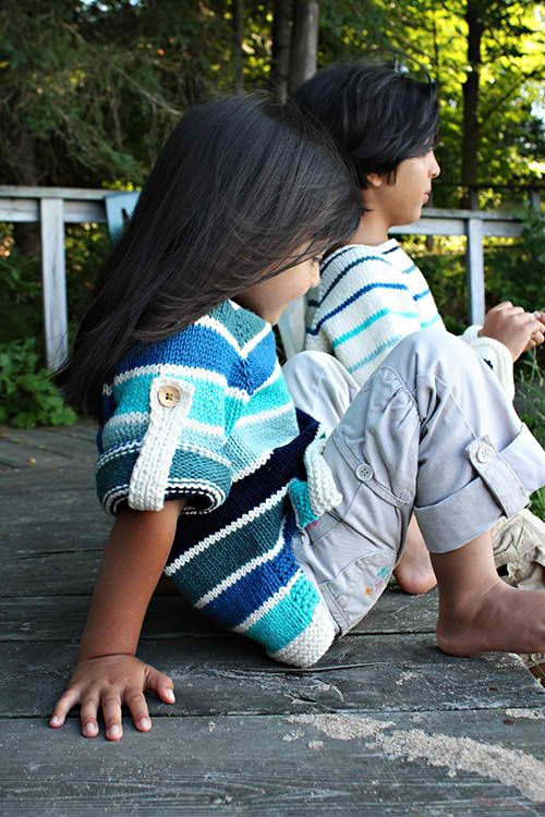 Seamus Summer Pullover: #knit #knitting #free #pattern #freepattern #freeknittingpattern #knittingpattern #seamussummerpullover
