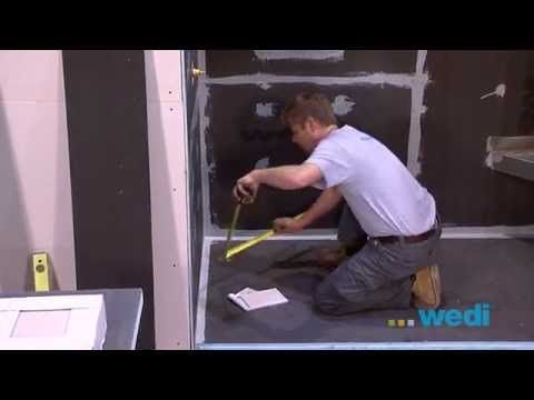 Wedi  Usa  How To Build A Walk In Shower  Youtube  Home Simple Youtube Bathroom Remodel Design Decoration