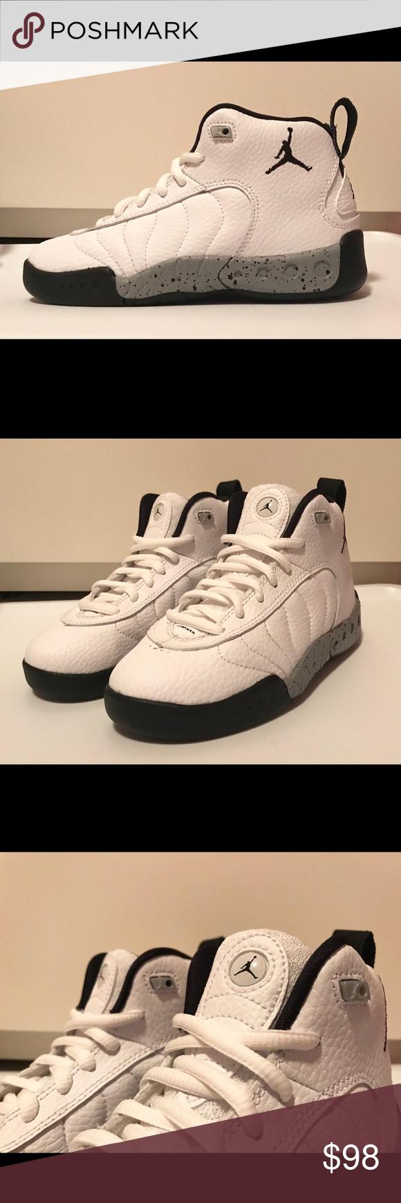 4baca68592e7bc Air Jordan Jumpman Pro (PS) Kids Sz 12.5 Youth Air Jordan Jumpman Pro (PS)  Kids Sz 12.5 White   Grey   Black Style 909419-103 Youth size 12.5C Jordan  Shoes ...
