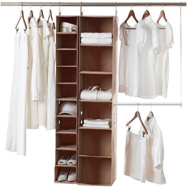 Neatfreak Closet Organization System, 3 Piece ClosetMAX (140 BRL) ❤ liked on Polyvore featuring home, home improvement, storage & organization, closet, furniture, interior, decor and no color