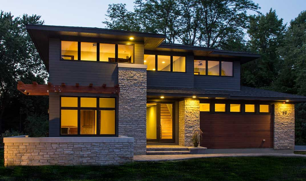 modern prairie style homes garage design crumbling stone wall ideas mission pictures craftsman for sale in missouri