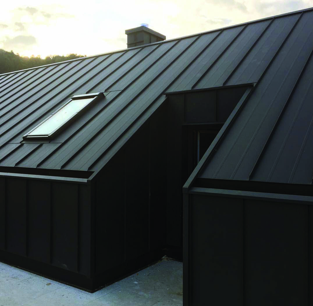 This Type Of Roof Design Is An Obviously Inspirational And Exceptional Idea Roofdesign Metal Roof Houses House Cladding House Roof