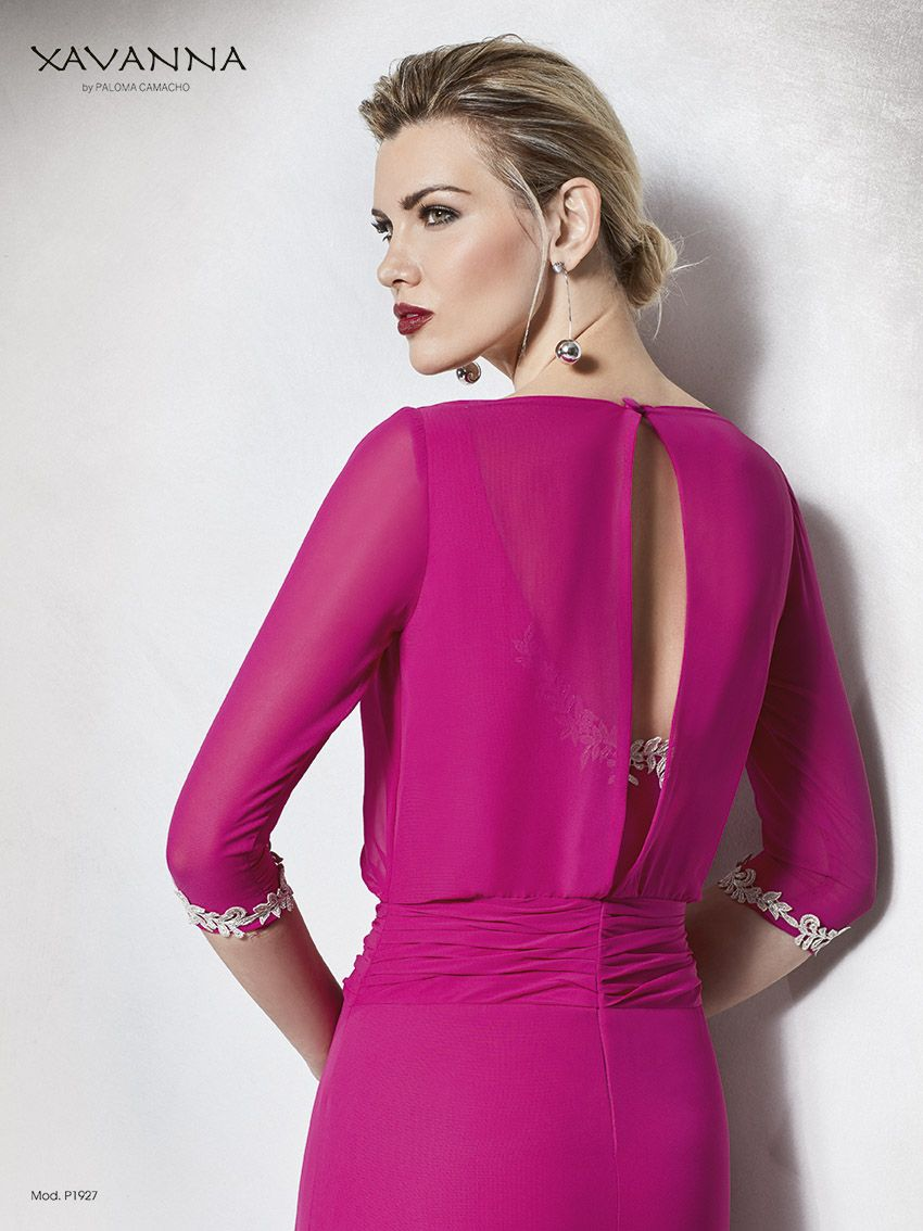 Elegante vestido largo, para madrina   Madrinas 2018   Pinterest ...