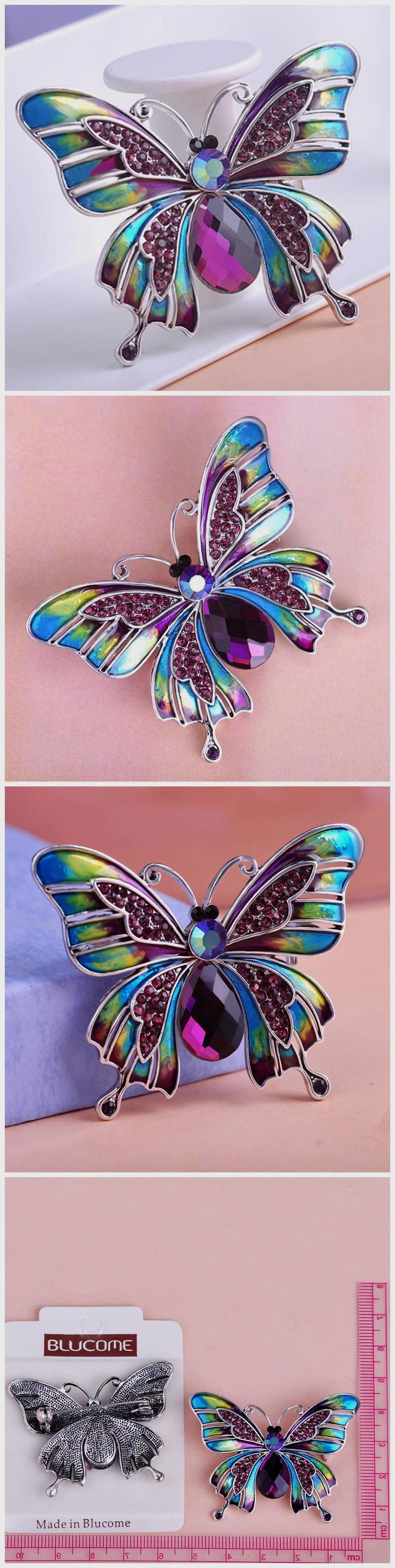 Beautiful Esmalte Butterfly Broch Only 15.99 => Save up