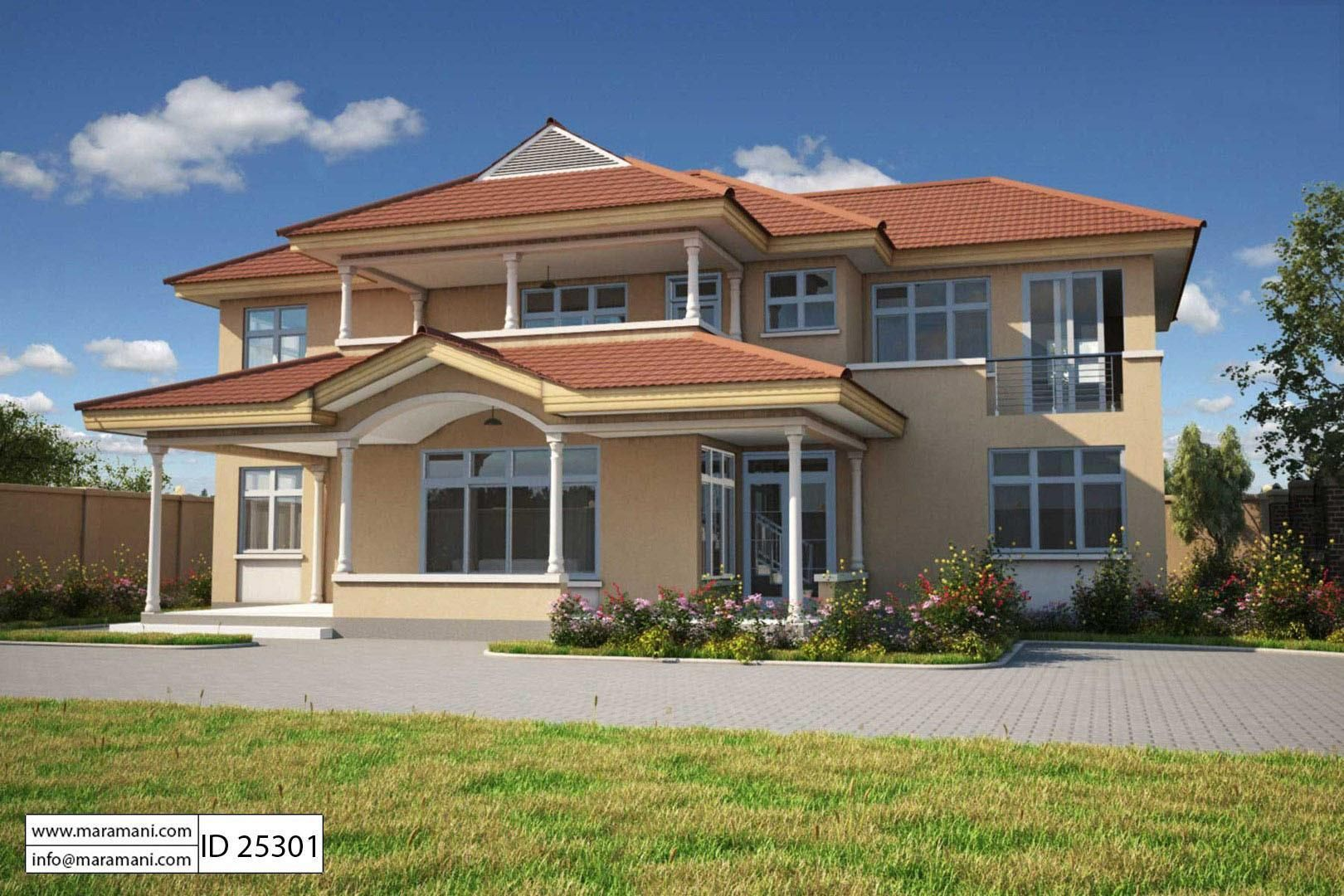 5 Bedroom House Plan 2 Story Id 25301 House Plans