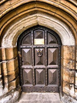 Lambeth Palace door