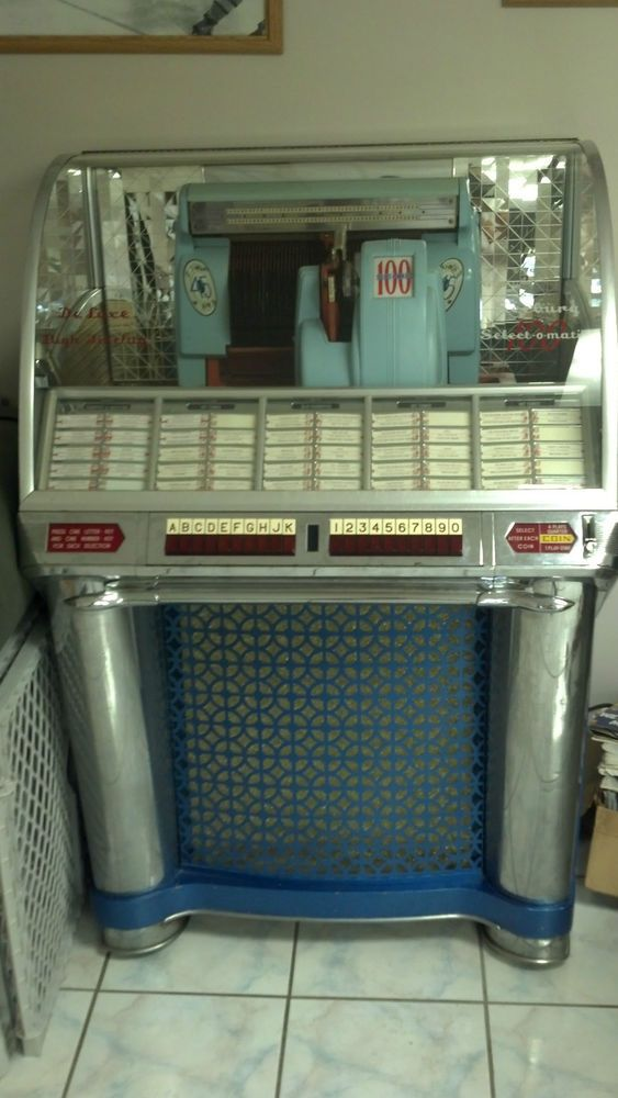 1953 SEEBURG 100 G JUKEBOX w/ OVER 200 RECORDS #jukebox #music
