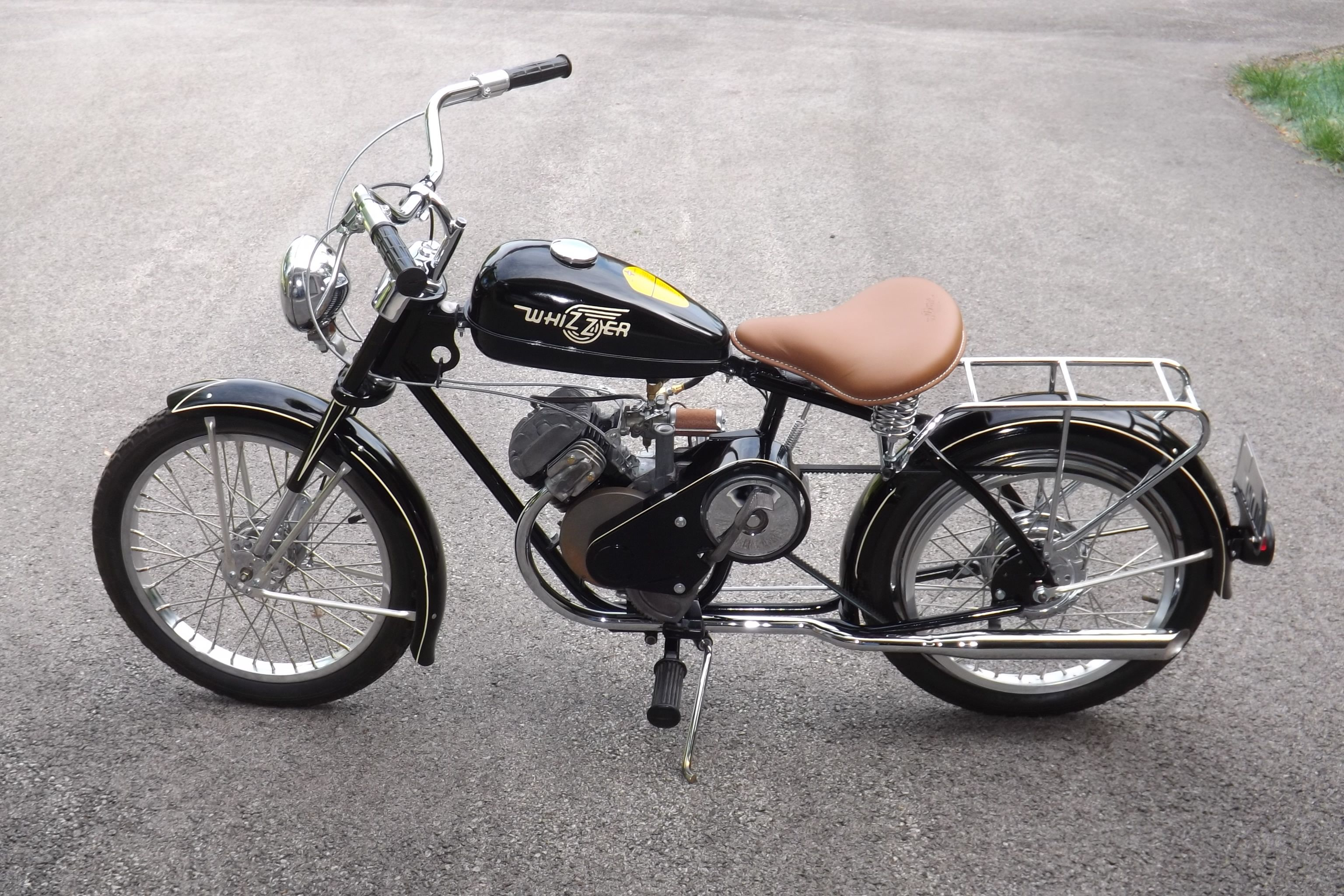 My last restoration. Whizzer Sportsman. I'll post a before ...